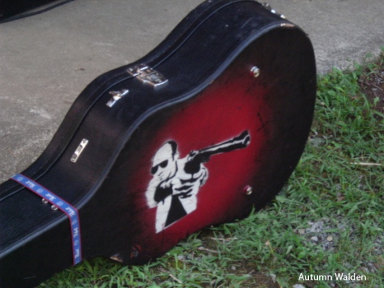 Bret Mosely's Guitar Case